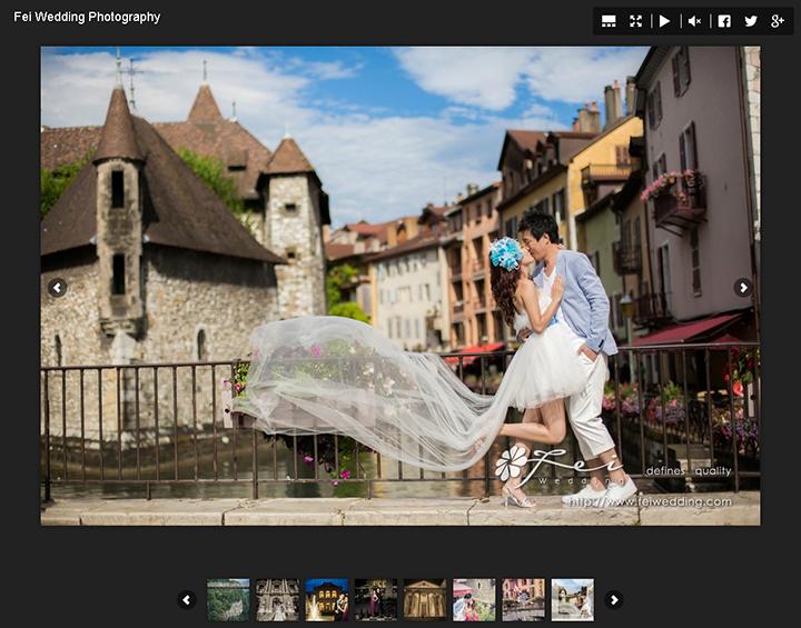 FEI WEDDING 全新升級版婚照網上相簿