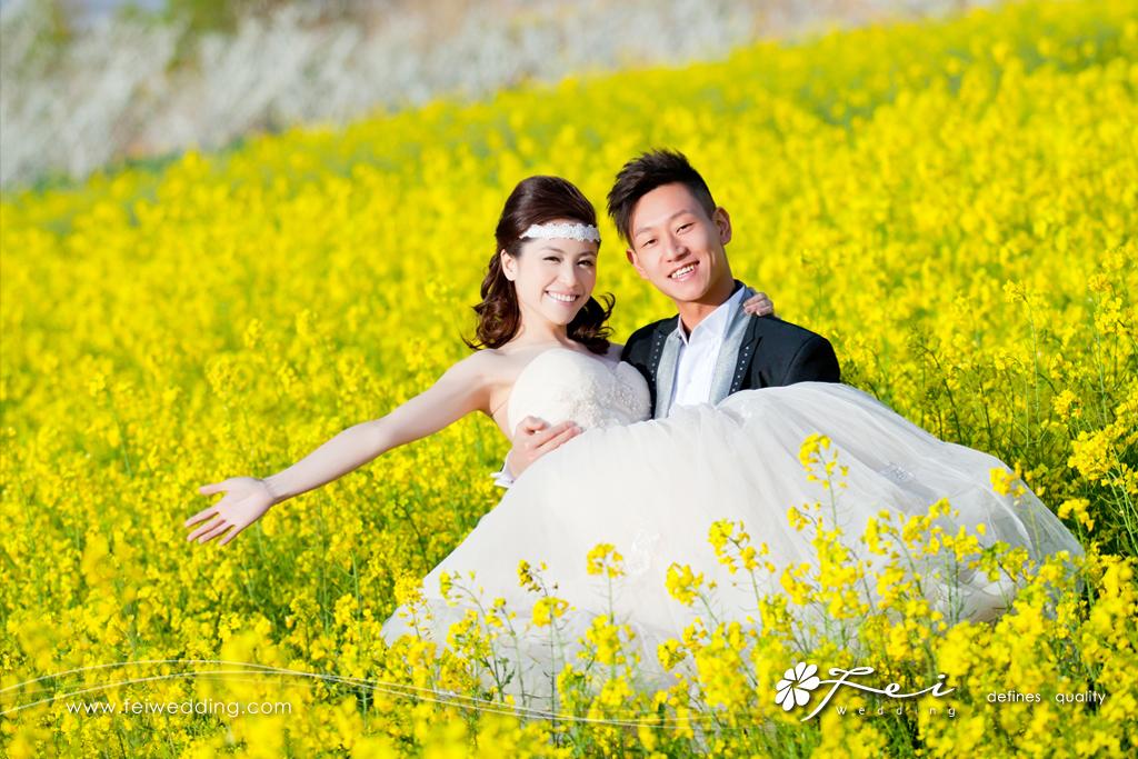 麗江婚紗攝影 – 雪山花海之旅