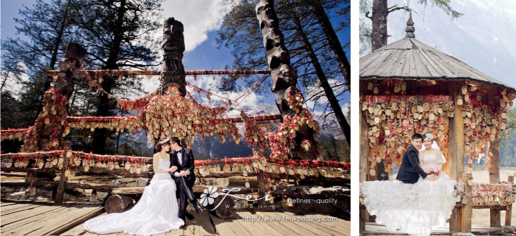 意想不到的的婚紗攝影之旅.麗江