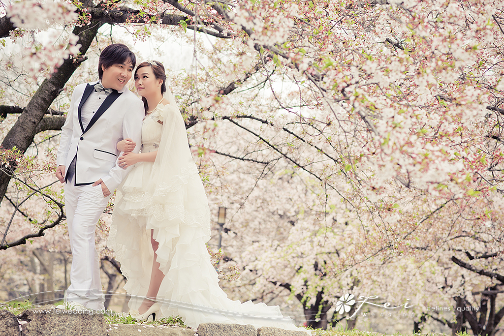 Connie & Jim (日本 婚紗攝影.April 2015)