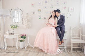 Esther & Kevin (影樓 婚紗攝影.July 2015)