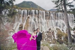 Yvonne & Anthony (九寨溝 婚紗攝影.October 2015)