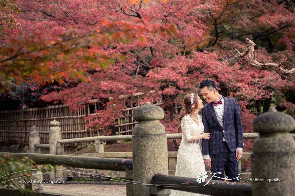 Betty & Vincent (日本 婚紗攝影.November 2015)