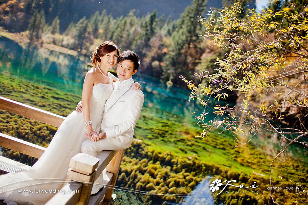 從雪山花海到湖泊瀑布 —— 麗江﹑九寨溝婚紗攝影服務